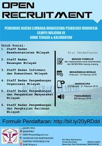 Open Recruitment ILMPI Wilayah III